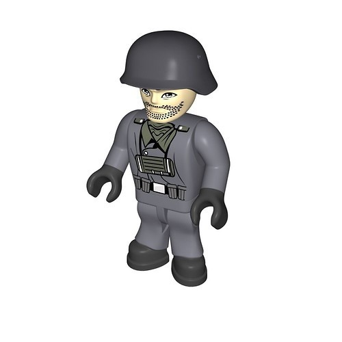 Wehrmacht soldier, motorcyclist (344)