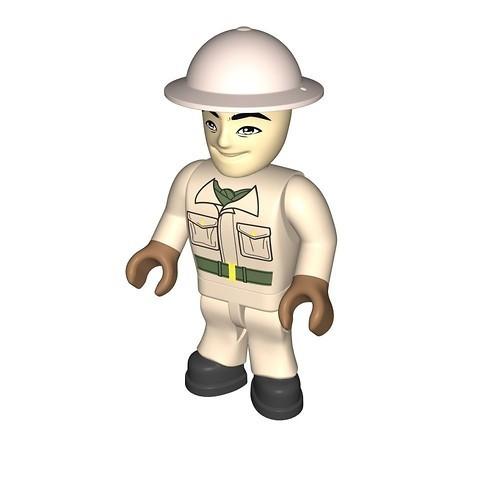 British soldier, tanker (403)