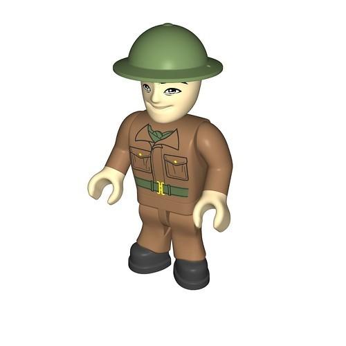 British soldier, tanker (416)