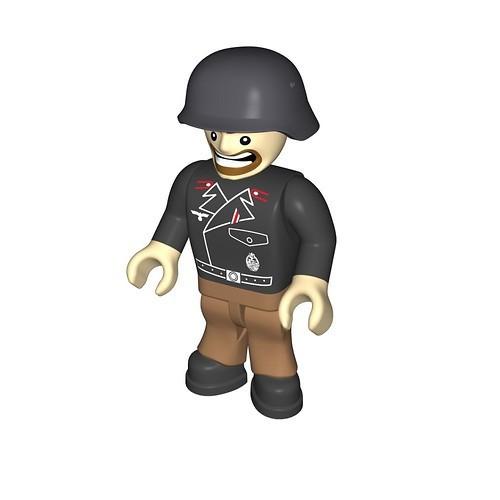 Wehrmacht soldier, artilleryman (420)