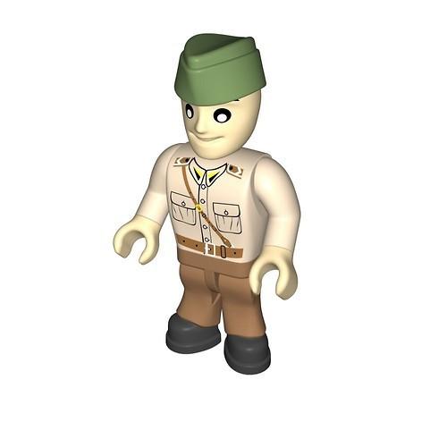 Soldier LWP tanker (458)