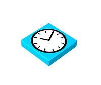 2x2 1/3 płaski - Clock