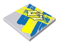 4x4 1/3 płaski - F. Szwedz.+ Logo Sabaton PV/p