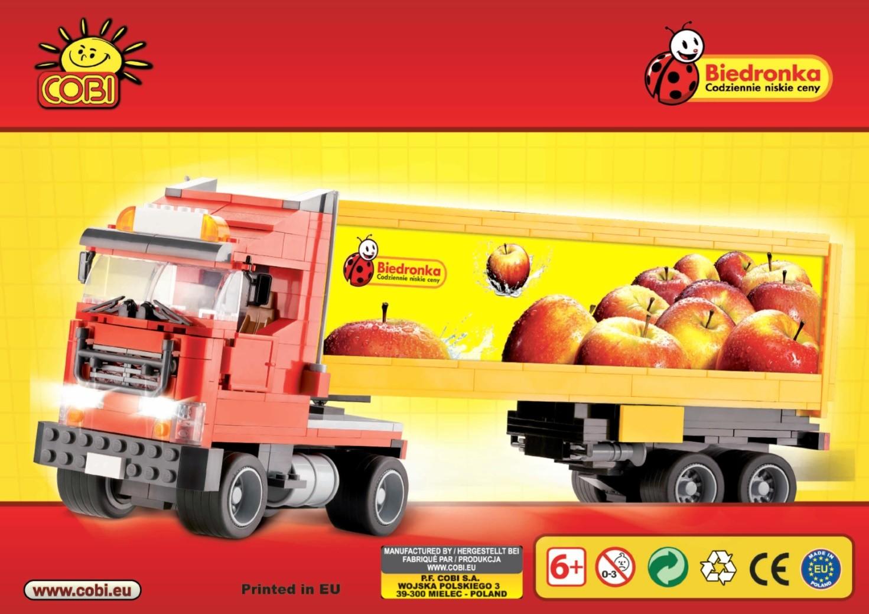 """01982 - Ciężarówka """"Biedronka"""""""