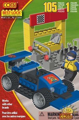 02320738 - Blue racing car