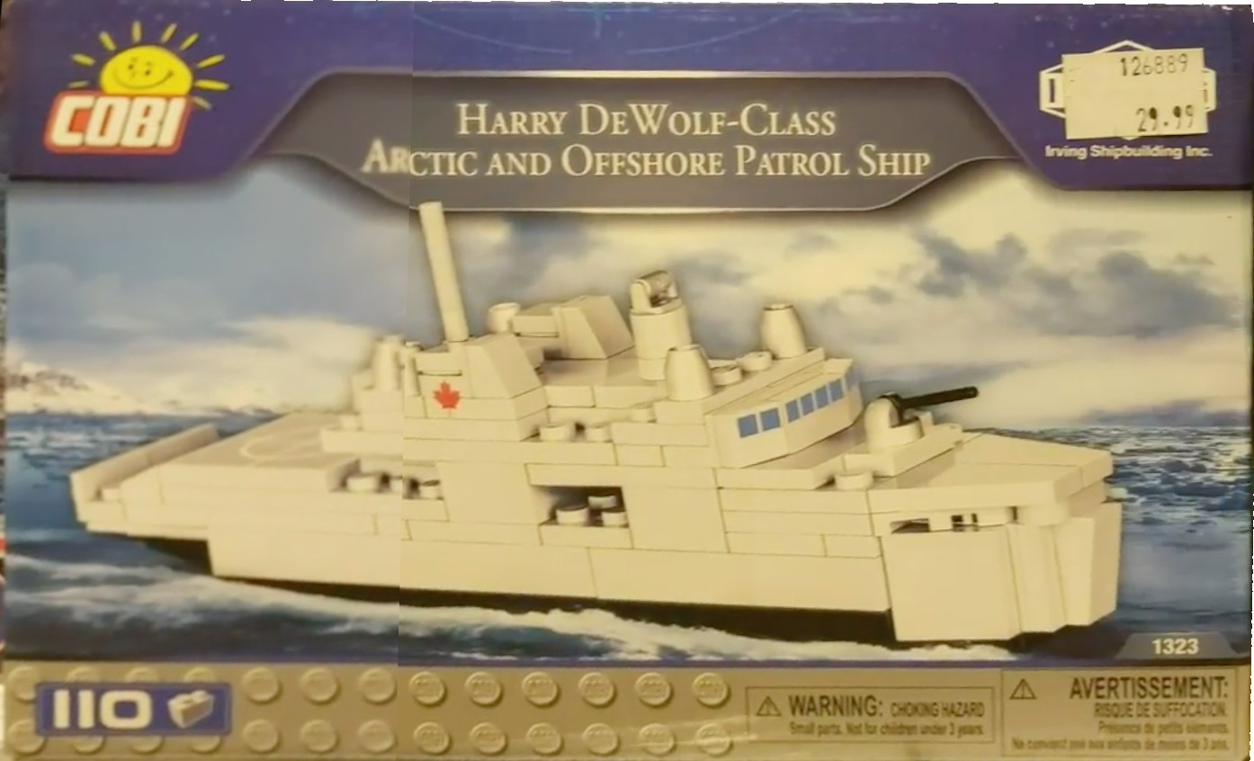 1323 - Harry De-Wolf class - Arctic and Offshore Patrol Ship