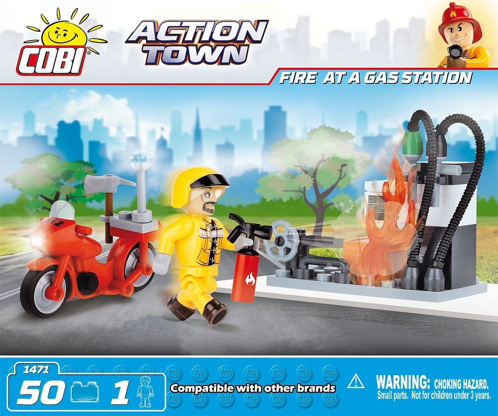 1471 - Fire at a Gas Station
