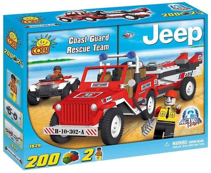 1829 - Jeep z quadem