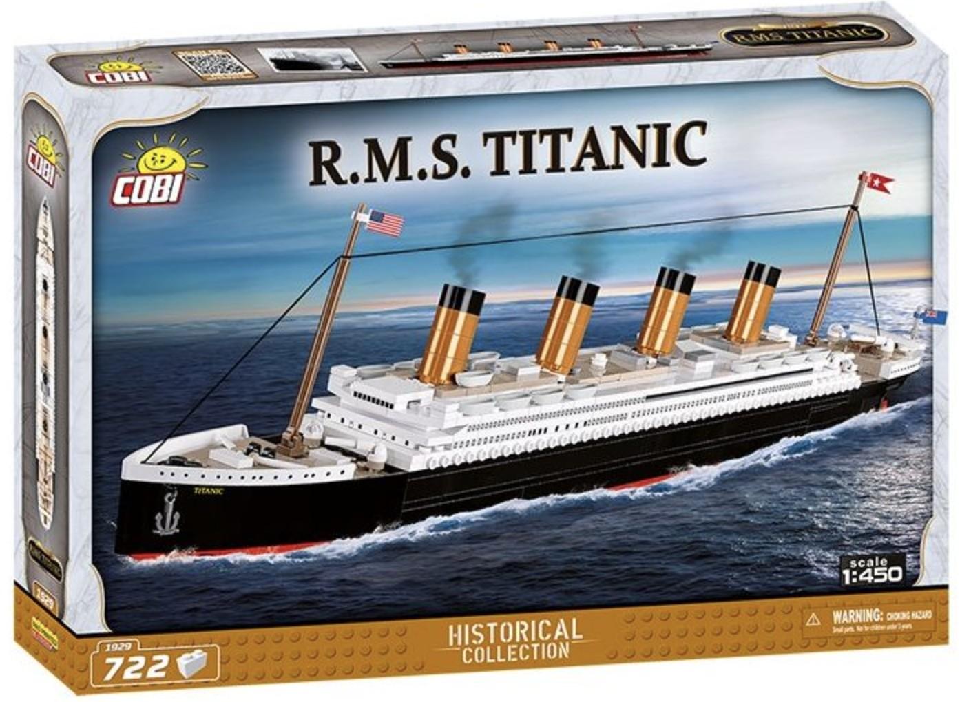 1929 - RMS Titanic 1:450