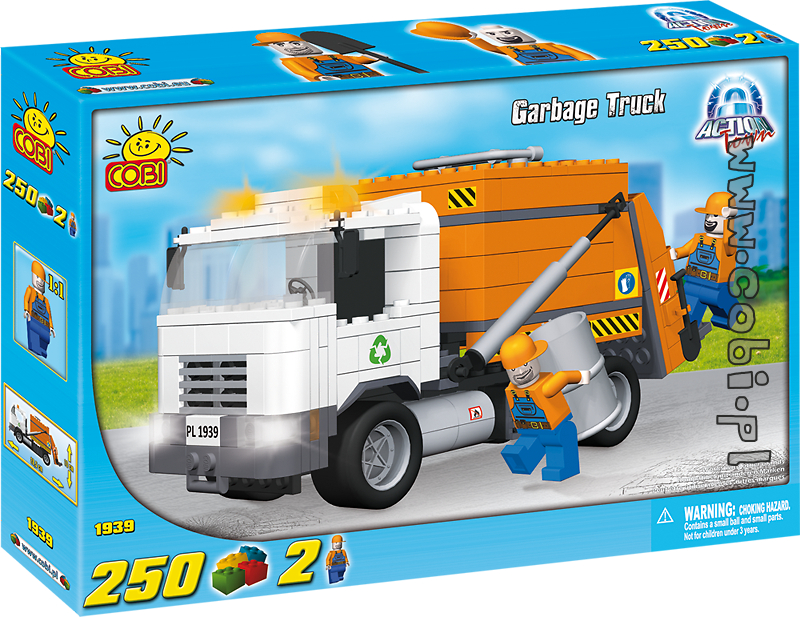 1939 - Śmieciarka (Garbage Truck)