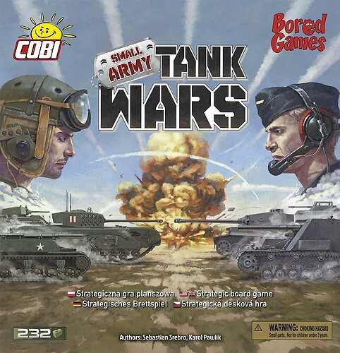 22104 - Tank Wars Bored Games
