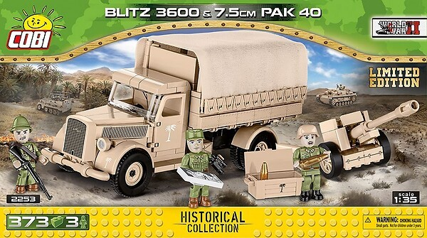 2253 - Blitz 3600 & 7,5 cm PaK 40 - Limited Edition photo
