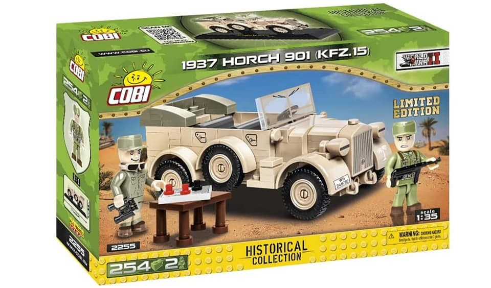 2255 - 1937 Horch 901 kfz.15 - Limited Edition