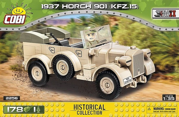 2256 - 1937 Horch 901 kfz.15