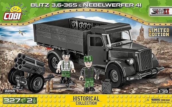 2258 - Blitz 3,6-36S - Nebelwerfer 41 - Limited Edition