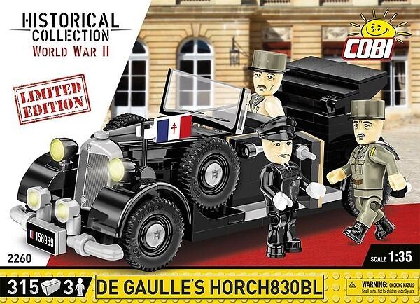 2260 - De Gaulle's Horch830BL - Limited Edition