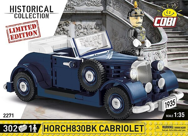 2271 - Horch830BK Cabriolet - Limited Edition