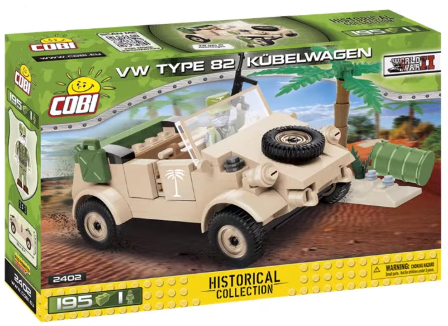 2402 - VW typ 82 Kübelwagen
