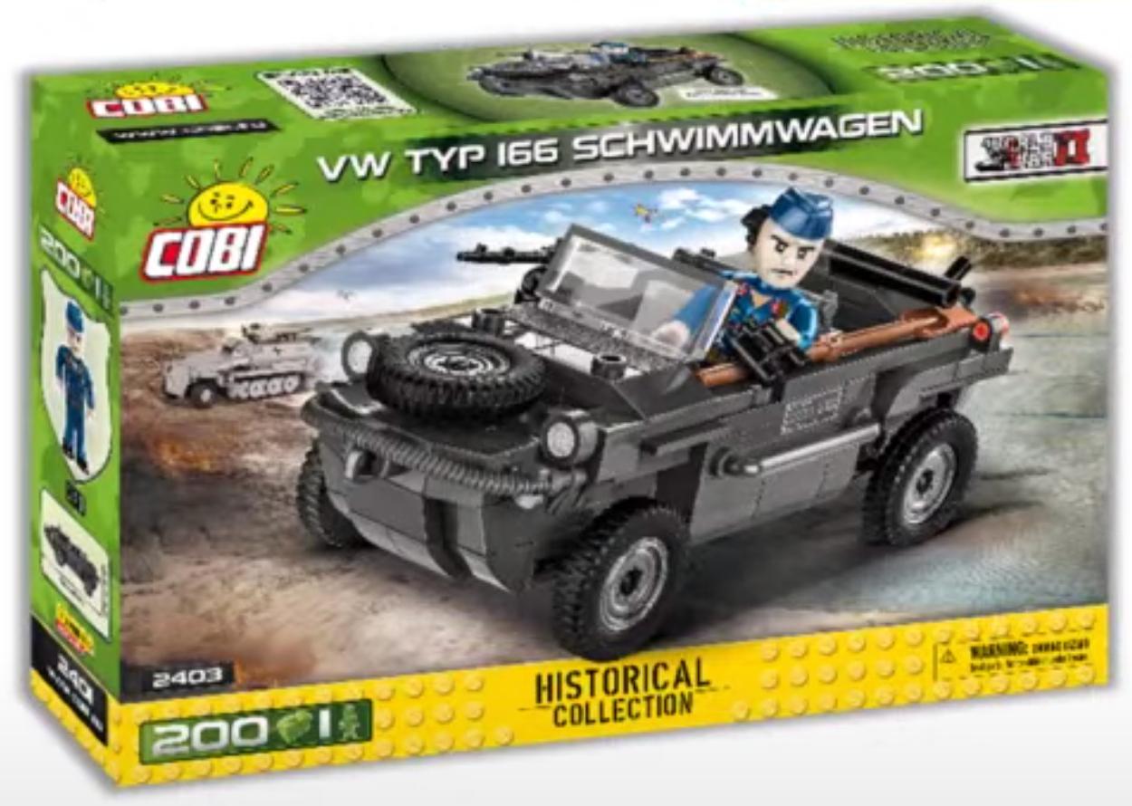 2403 - VW Typ 166 Schwimmwagen