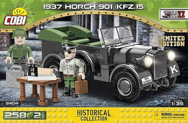 2404 - 1937 Horch 901 kfz. 15 - Limited Edition
