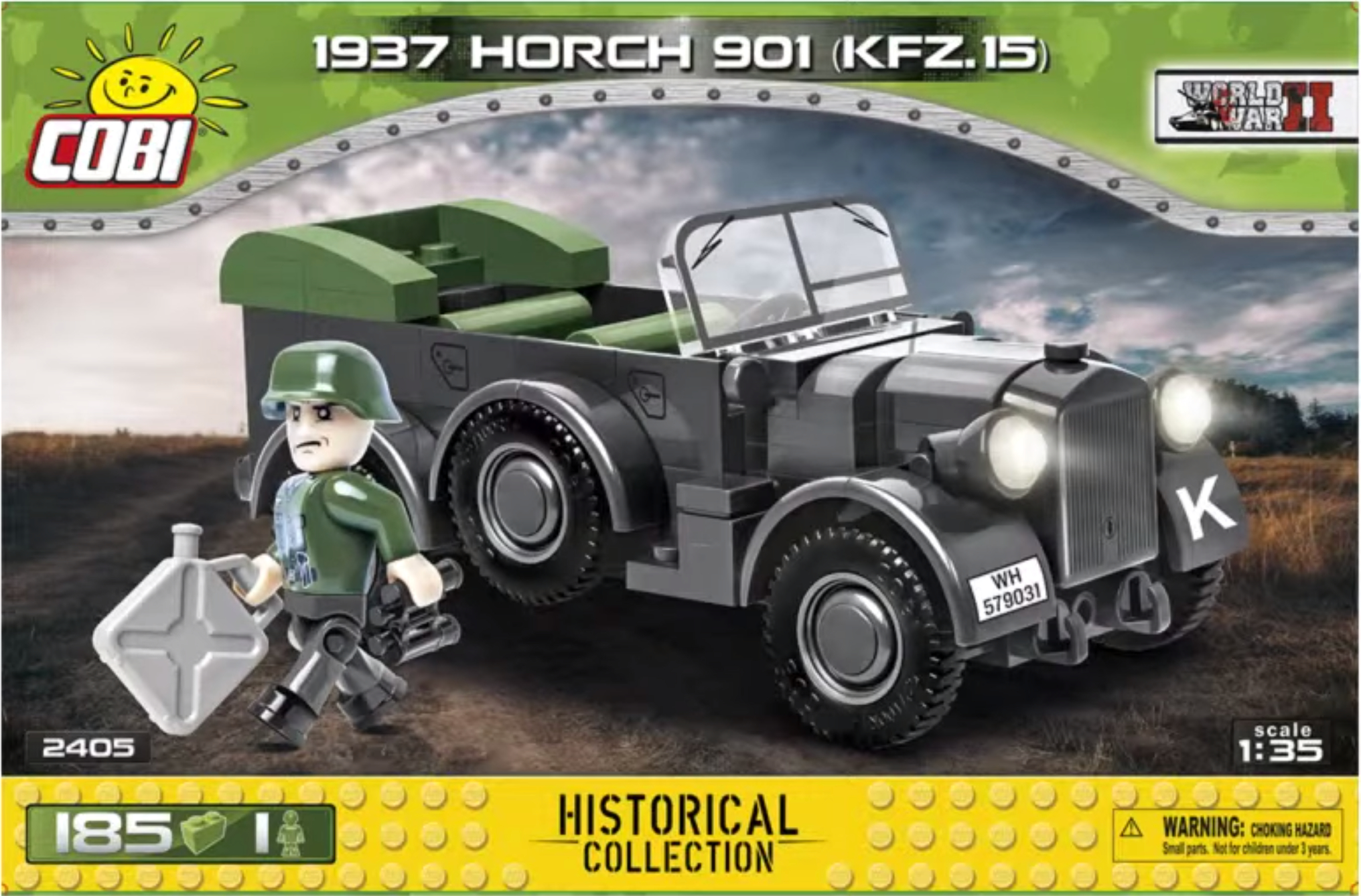 2405 - 1937 Horch 901 kfz.15