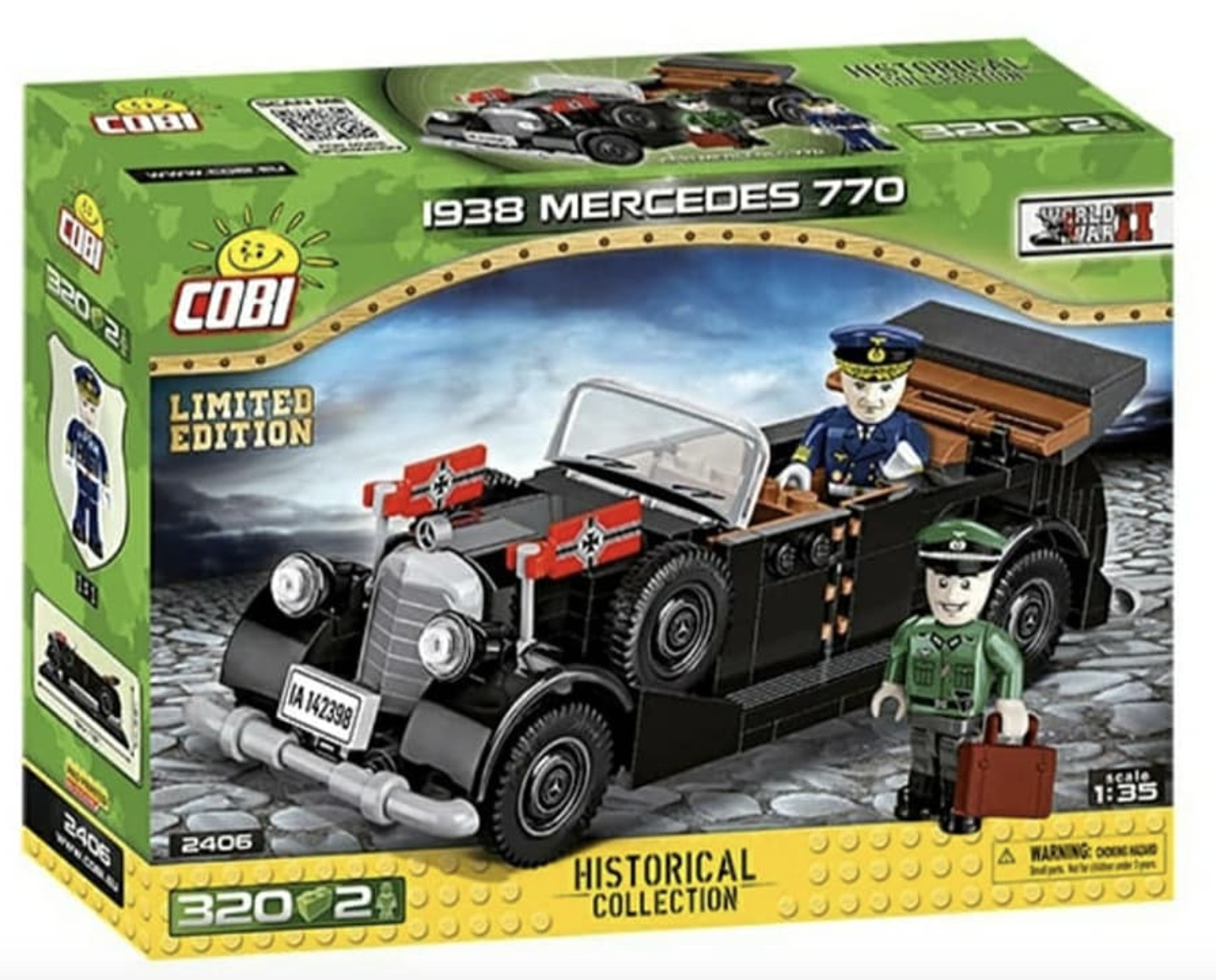 2406 - 1938 Mercedes 770 - Limited Edition