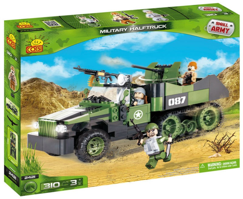 2421 - Military half truck