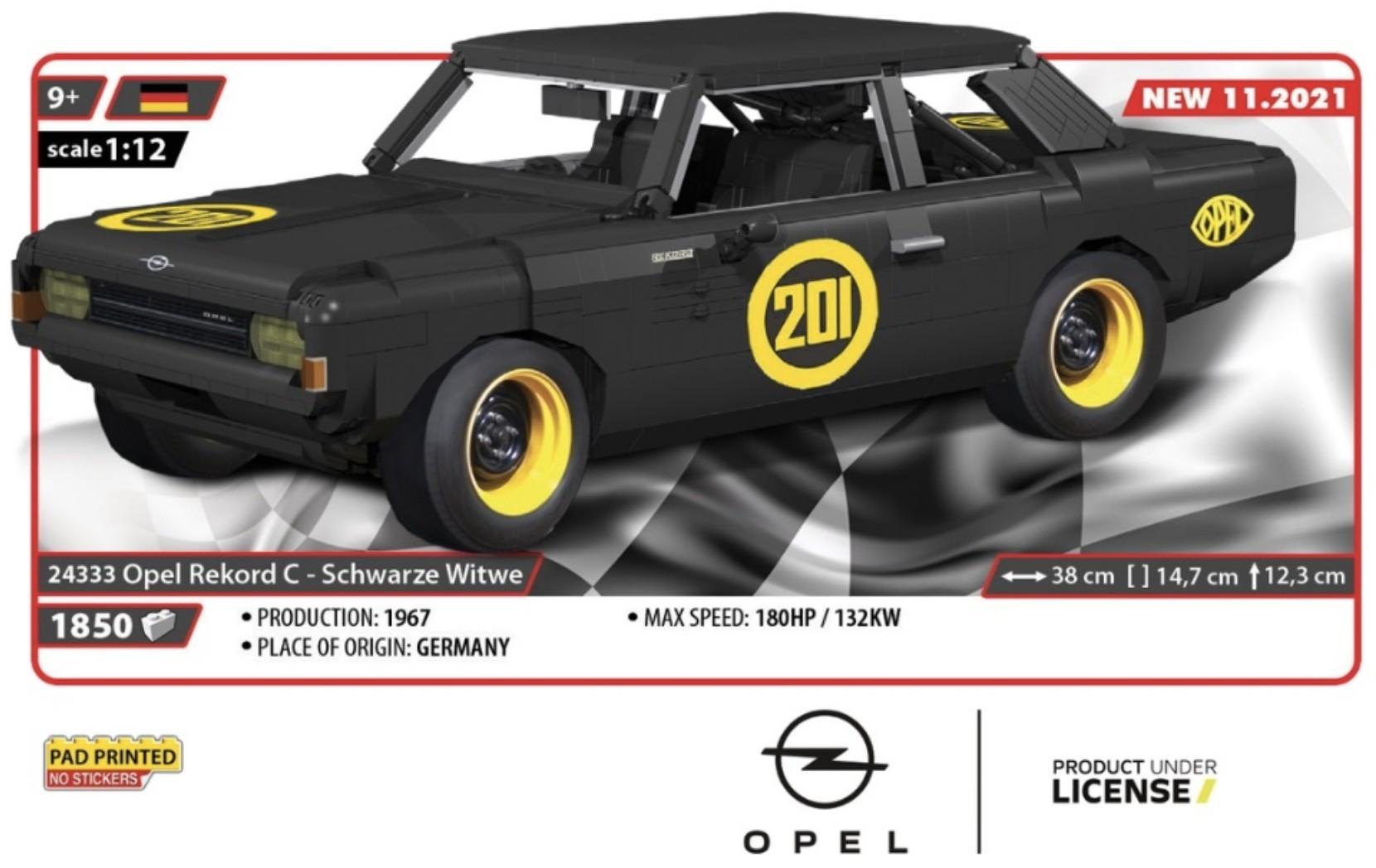 24333 - Opel Rekord C - Schwarze Witwe