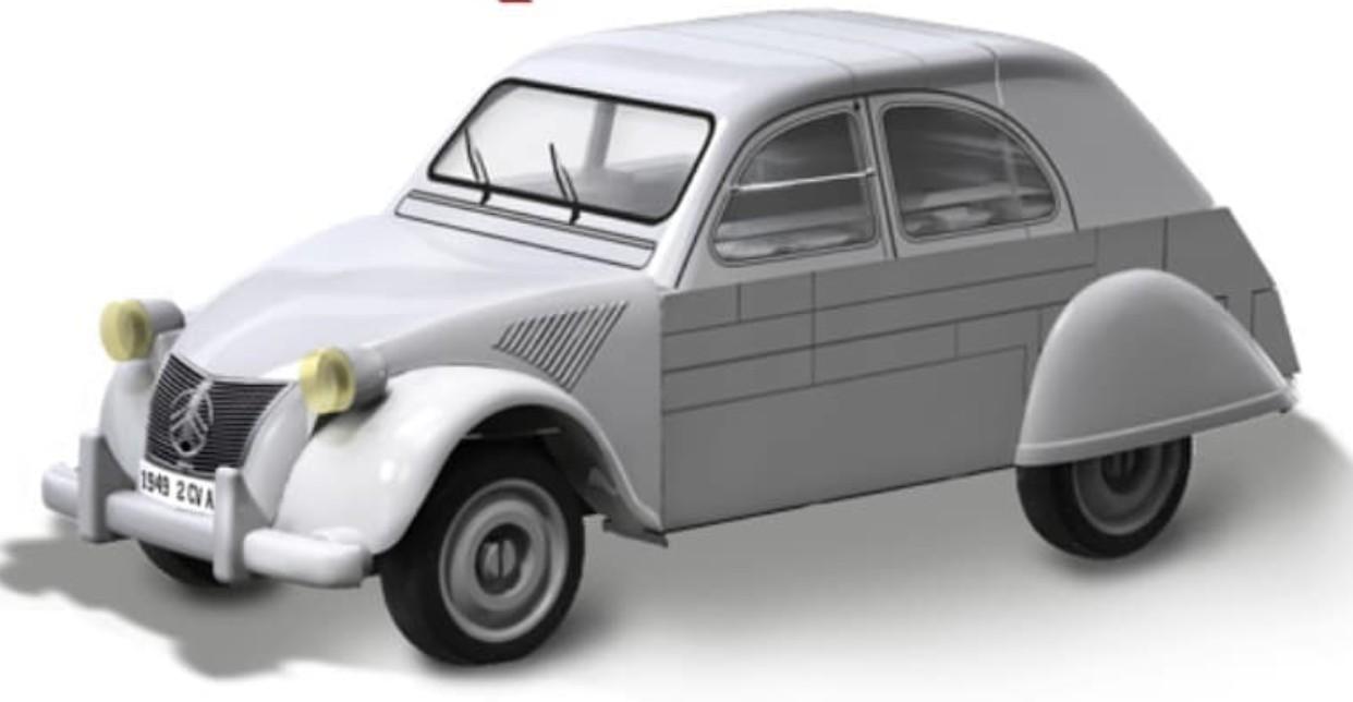 24510 - Citroën 2CV Type A (1949)