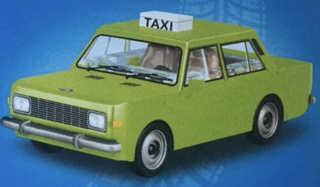 24528 - Wartburg 353W Taxi