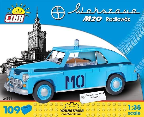 24551 - Warszawa M20 Radiowóz