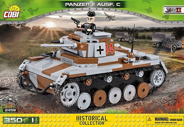 2459 - Panzer II Ausf. C (version 2)