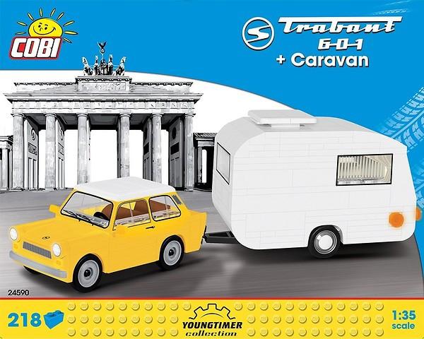 24590 - Trabant 601 + Caravan
