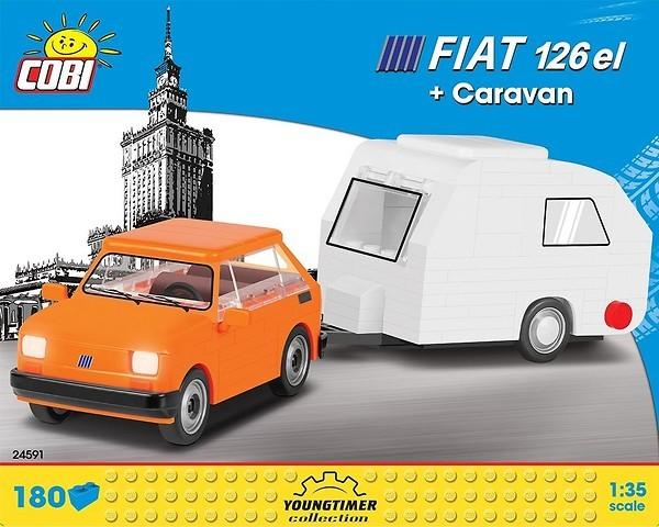 24591 - Fiat 126 el + Caravan