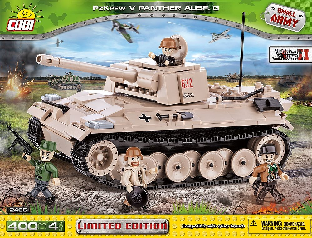 2466 - Panzerkampfwagen V Panther Ausf. G Limited Edition (version 2)