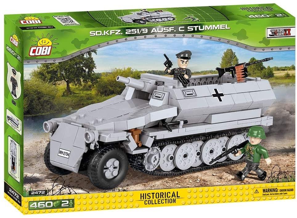 2472 - Sd.Kfz.251/9 Ausf.C Stummel (version2)