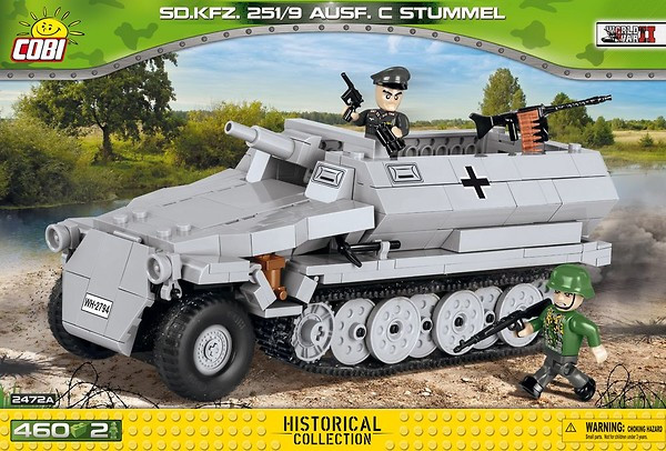 2472A - Sd.Kfz.251/9 Ausf.C Stummel