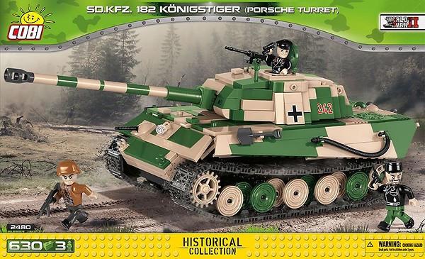 """2480 - Tiger II Pz.Kpfw. VIB """"Königstiger"""" (version2)"""