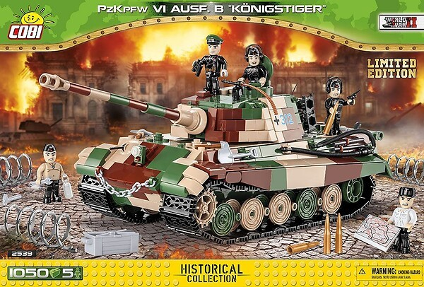 2539 - Panzerkampfwagen VI Ausf. B Königstiger - Limited Edition
