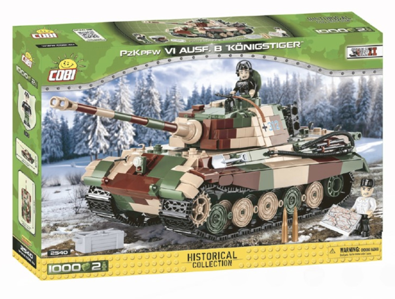 2540 - Panzerkampfwagen VI Ausf. B Königstiger