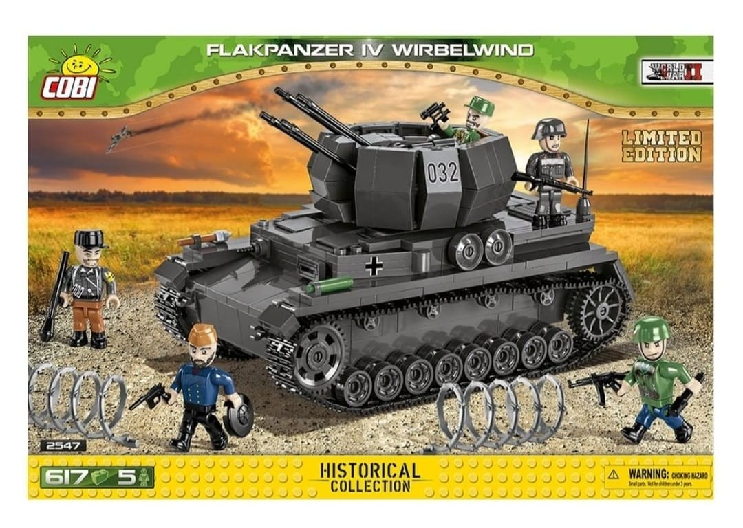 2547 - Flakpanzer IV Wirbelwind - Limited Edition