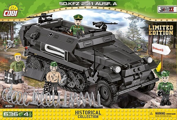 2551 - Sd.Kfz. 251/1 Ausf. A - Limited Edition