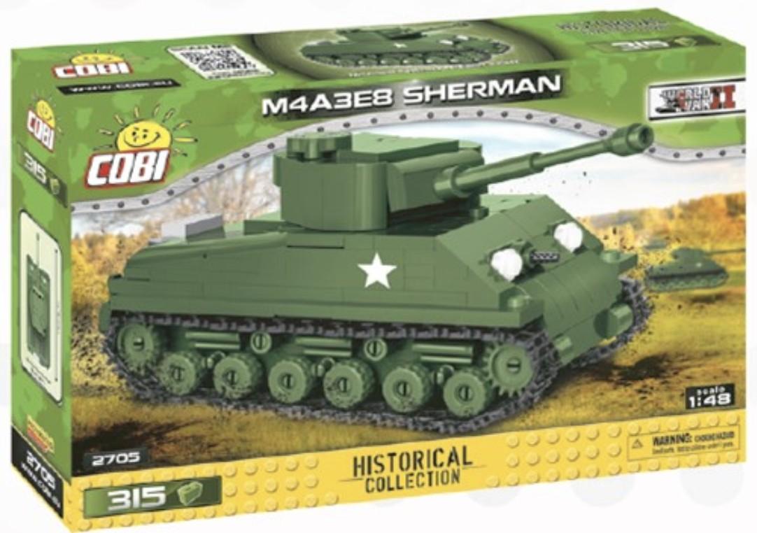 2705 - M4A3E8 Sherman