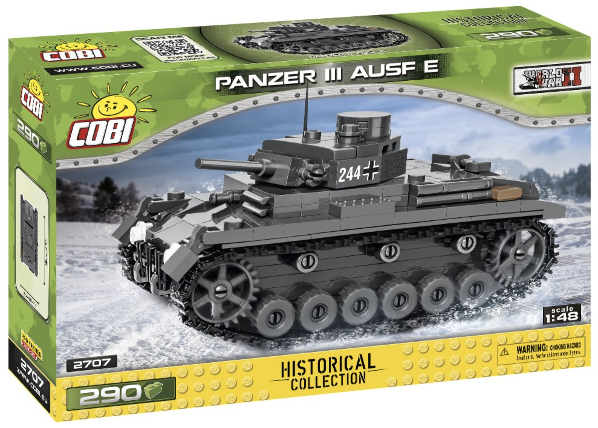 2707 - Panzer III Ausf. E photo