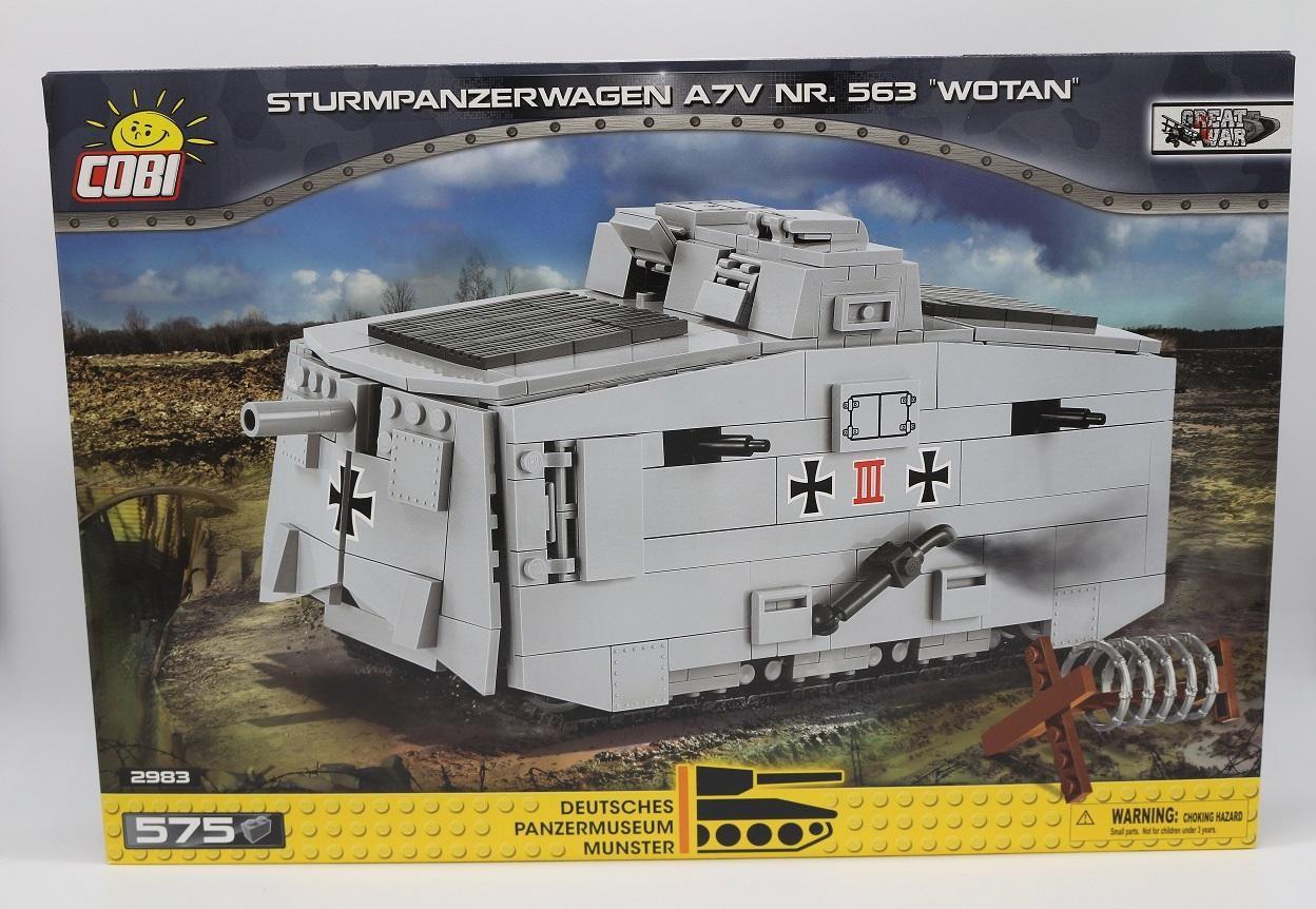 "2983 - Sturmpanzerwagen A7V NR. 563 ""WOTAN"""