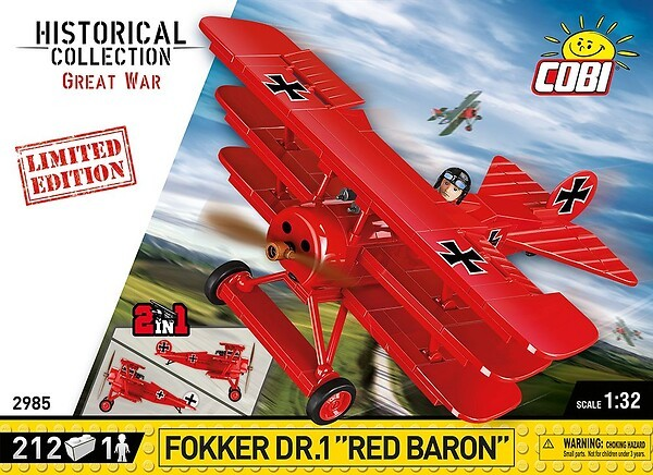2985 - Fokker Dr.1 Red Baron - Limited Edition photo
