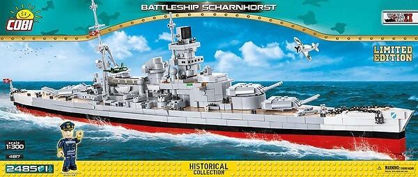 4817 - Battleship Scharnhorst Limited Edition