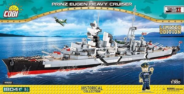 4822 - Prinz Eugen Heavy Cruiser Limited Edition