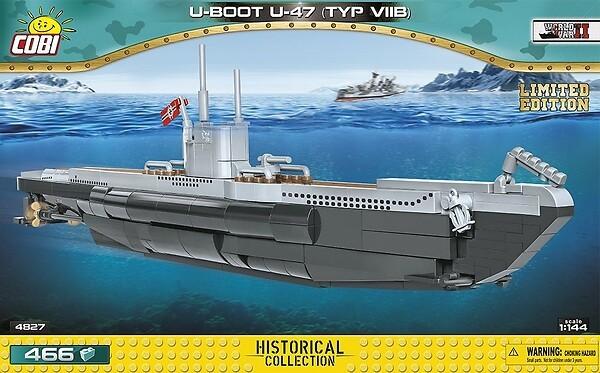 4827 - U-Boot U-47 TYP VII B Limited Edition