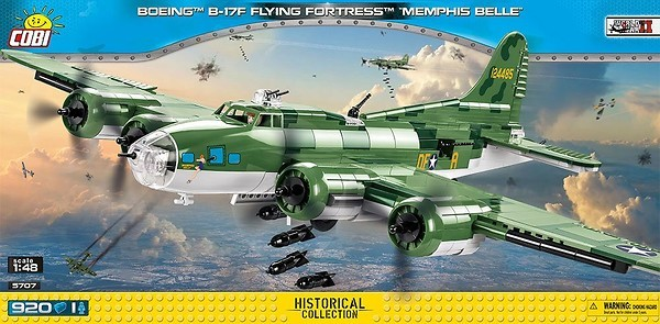 5707 - Boeing™ B-17F Flying Fortress™ Memphis Belle